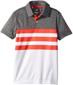 adidas Golf 3-Stripe Fashion Polo (Big Kids)