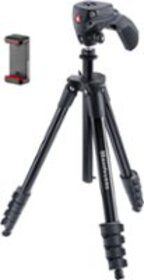 "Manfrotto - Compact Action Smart 61"" Tripod - Blac"