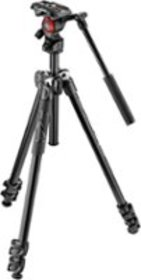 Manfrotto - 290 Tripod with Fluid Video Head - Bla