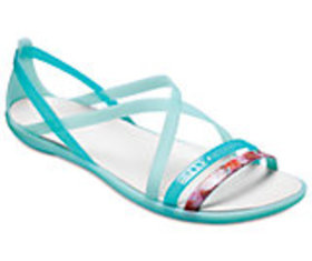 Women's Crocs Isabella Cut-Out Graphic Strappy San