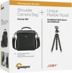 Lowepro/Joby - Format 160 Camera Bag & GorillaPod