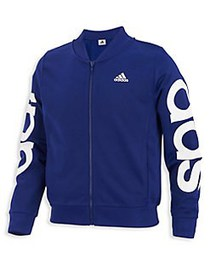 Adidas Little Girl's and Girl's Cropped Adi Bomber