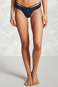Forever21 Strappy Textured Thong