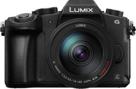 Panasonic - Lumix G85 Mirrorless Camera with 12-60