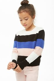 Forever21 Girls Colorblock Sweater (Kids)