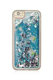 Forever21 Glitter & Confetti Waterfall Case for iP