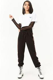 Forever21 Pony Cropped Graphic Tee