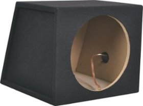 "Metra - 10"" Single Sealed Subwoofer Enclosure - Ch"