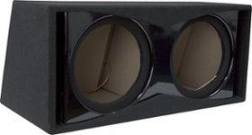 "Metra - 12"" Dual Ported Subwoofer Enclosure - Blac"
