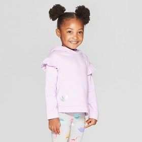 Toddler Girls' Hoodie Pullover Sweater - Cat & Jac