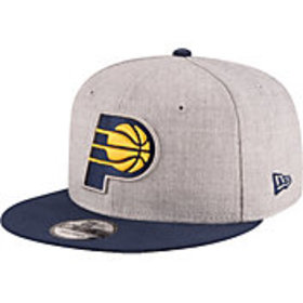 New Era Men's Indiana Pacers 9Fifty Adjustable Sna