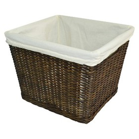 Large Decorative Toy Storage Basket with Liner Bro