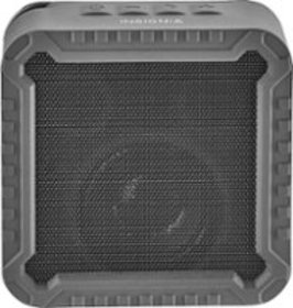 Insignia™ - Rugged Portable Bluetooth Speaker - Bl