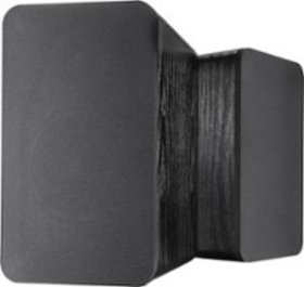 Insignia™ - Powered Bookshelf Speakers (Pair) - Bl