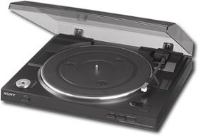 Sony - USB Stereo Turntable - Black