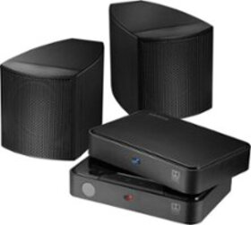 Insignia™ - Universal Rear Speakers (Pair) - Black