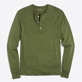 J. Crew Factory factory mens Long-sleeve sunwashed