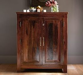 Pottery Barn Bowry Bar Cabinet