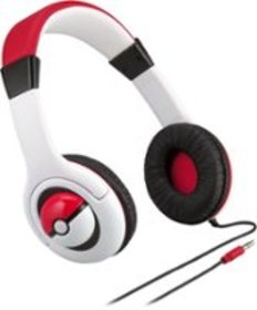 eKids - Pokemon Wired On-Ear Headphones - Multi