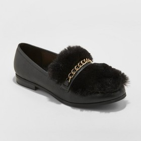 Women's Sal Faux Leather Fur Closed Loafers - A Ne