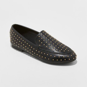 Women's Yari Faux Leather Studded Loafers - A New