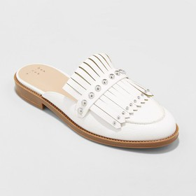Women's Karoline Backless Loafer Mules - A New Day