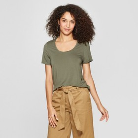 Women's Any Day Short Sleeve Scoop T-Shirt - A New