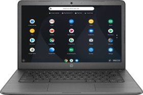 "HP - 14"" Touch-Screen Chromebook - Intel Celeron -"