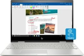 "HP - ENVY x360 2-in-1 15.6"" Touch-Screen Laptop -"