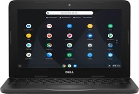 "Dell - 11.6"" Chromebook - Intel Celeron - 4GB Memo"