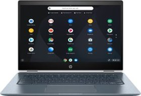 "HP - 2-in-1 14"" Touch-Screen Chromebook - Intel Co"