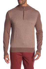 Brooks Brothers Zip Front Sweater