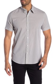 Theory Coppolo Liam Striped Regular Fit Shirt