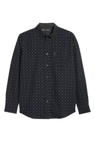 Ben Sherman Clipped Squares Classic Fit Shirt
