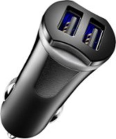 Insignia™ - 17W Vehicle Charger with 2 USB Ports -