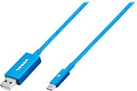 Modal™ - 3' USB Type A-to-USB Type C Cable - Blue