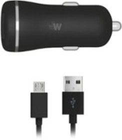 Just Wireless - Vehicle Charger - Black