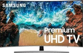 """Samsung - 65"""" Class - LED - Curved - NU8500 Series"""