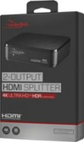 Rocketfish™ - 2-Output HDMI Splitter with 4K and H