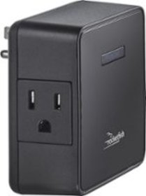 Rocketfish™ - 2-Outlet Wall Tap Surge Protector -