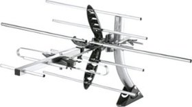 Insignia™ - Outdoor High Gain Yagi Antenna - Gray