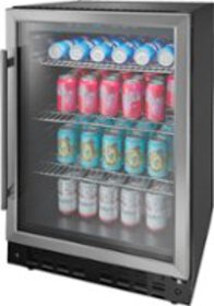 Insignia™ - 165-Can Built-In Beverage Cooler