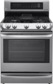 LG - 6.3 Cu. Ft. Self-Cleaning Freestanding Gas Co