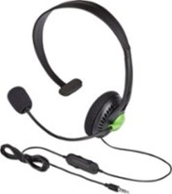 Insignia™ - Wired Chat Headset for Xbox One - Blac