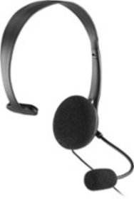 Insignia™ - Wired Mono On-the-Ear Chat Headset for