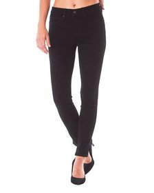 Nicole Miller High-Rise Skinny Jeans Black