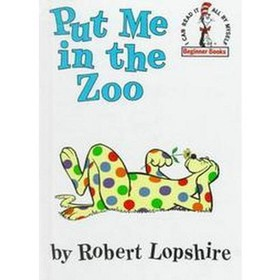 Put Me in the Zoo by Robert Lopshire (Hardcover) b