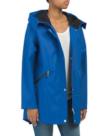 FRENCH CONNECTION Storm Flap Hd Slicker Coat