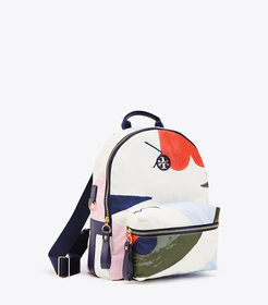 Tory Burch TILDA PRINTED ZIP BACKPACK