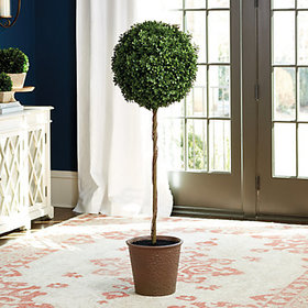 Faux Boxwood Tree